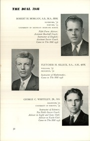Page 34, 1946 Edition, The Hill School - Dial Yearbook (Pottstown, PA) online yearbook collection