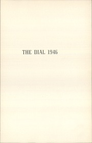 Page 5, 1946 Edition, The Hill School - Dial Yearbook (Pottstown, PA) online yearbook collection