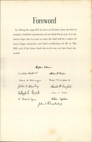 Page 11, 1949 Edition, The Hill School - Dial Yearbook (Pottstown, PA) online yearbook collection