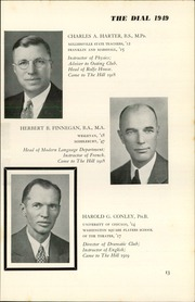 Page 17, 1949 Edition, The Hill School - Dial Yearbook (Pottstown, PA) online yearbook collection