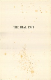 Page 5, 1949 Edition, The Hill School - Dial Yearbook (Pottstown, PA) online yearbook collection