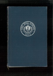 1950 Edition, The Hill School - Dial Yearbook (Pottstown, PA)