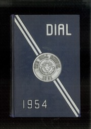 1954 Edition, The Hill School - Dial Yearbook (Pottstown, PA)