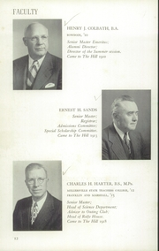 Page 16, 1956 Edition, The Hill School - Dial Yearbook (Pottstown, PA) online yearbook collection