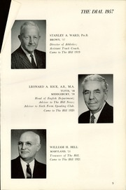 Page 13, 1957 Edition, The Hill School - Dial Yearbook (Pottstown, PA) online yearbook collection
