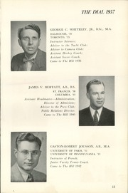 Page 17, 1957 Edition, The Hill School - Dial Yearbook (Pottstown, PA) online yearbook collection