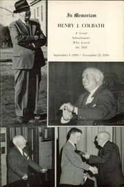 Page 9, 1957 Edition, The Hill School - Dial Yearbook (Pottstown, PA) online yearbook collection
