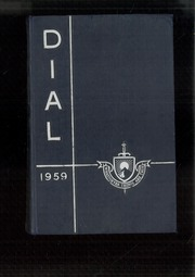 1959 Edition, The Hill School - Dial Yearbook (Pottstown, PA)