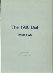 Page 5, 1986 Edition, The Hill School - Dial Yearbook (Pottstown, PA) online yearbook collection
