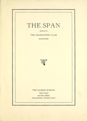 Page 7, 1931 Edition, The Illman School - Span Yearbook (Philadelphia, PA) online yearbook collection