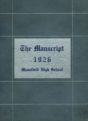 1926 Edition, Mansfield High School - Manscript Yearbook (Mansfield, PA)
