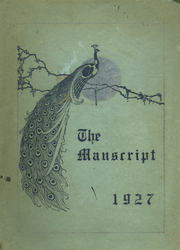 1927 Edition, Mansfield High School - Manscript Yearbook (Mansfield, PA)