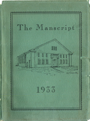 1933 Edition, Mansfield High School - Manscript Yearbook (Mansfield, PA)