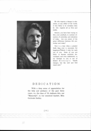 Page 10, 1933 Edition, Mansfield High School - Manscript Yearbook (Mansfield, PA) online yearbook collection
