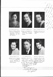 Page 13, 1933 Edition, Mansfield High School - Manscript Yearbook (Mansfield, PA) online yearbook collection