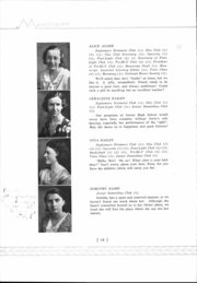 Page 16, 1933 Edition, Mansfield High School - Manscript Yearbook (Mansfield, PA) online yearbook collection