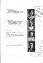 Page 17, 1933 Edition, Mansfield High School - Manscript Yearbook (Mansfield, PA) online yearbook collection