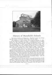 Page 8, 1933 Edition, Mansfield High School - Manscript Yearbook (Mansfield, PA) online yearbook collection