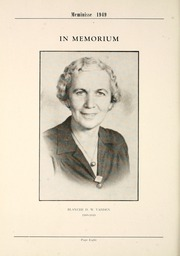 Page 12, 1949 Edition, Mercersburg High School - Meminisse Yearbook (Mercersburg, PA) online yearbook collection