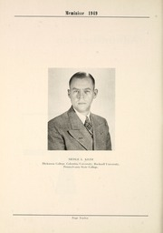 Page 16, 1949 Edition, Mercersburg High School - Meminisse Yearbook (Mercersburg, PA) online yearbook collection