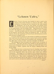 Page 16, 1900 Edition, Lebanon Valley College - Quittapahilla Yearbook (Annville, PA) online yearbook collection