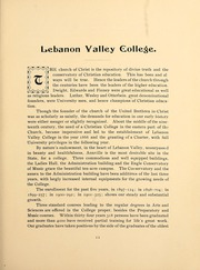 Page 17, 1902 Edition, Lebanon Valley College - Quittapahilla Yearbook (Annville, PA) online yearbook collection