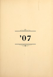 Page 11, 1907 Edition, Lebanon Valley College - Quittapahilla Yearbook (Annville, PA) online yearbook collection