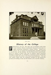 Page 16, 1909 Edition, Lebanon Valley College - Quittapahilla Yearbook (Annville, PA) online yearbook collection