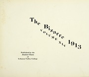 Page 7, 1913 Edition, Lebanon Valley College - Quittapahilla Yearbook (Annville, PA) online yearbook collection