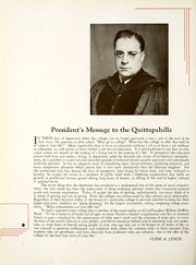 Page 12, 1936 Edition, Lebanon Valley College - Quittapahilla Yearbook (Annville, PA) online yearbook collection