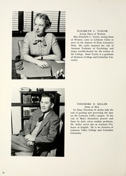 Page 16, 1956 Edition, Lebanon Valley College - Quittapahilla Yearbook (Annville, PA) online yearbook collection