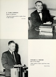 Page 13, 1957 Edition, Lebanon Valley College - Quittapahilla Yearbook (Annville, PA) online yearbook collection