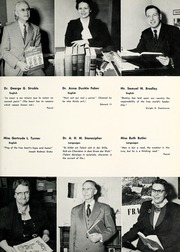 Page 17, 1957 Edition, Lebanon Valley College - Quittapahilla Yearbook (Annville, PA) online yearbook collection