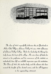 Page 9, 1957 Edition, Lebanon Valley College - Quittapahilla Yearbook (Annville, PA) online yearbook collection
