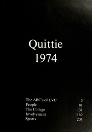 Page 5, 1974 Edition, Lebanon Valley College - Quittapahilla Yearbook (Annville, PA) online yearbook collection