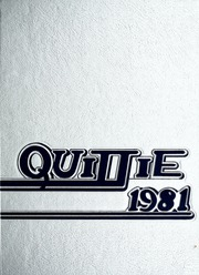 Page 1, 1981 Edition, Lebanon Valley College - Quittapahilla Yearbook (Annville, PA) online yearbook collection