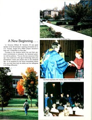 Page 8, 1985 Edition, Lebanon Valley College - Quittapahilla Yearbook (Annville, PA) online yearbook collection