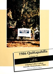 Page 5, 1986 Edition, Lebanon Valley College - Quittapahilla Yearbook (Annville, PA) online yearbook collection