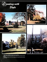 Page 6, 1987 Edition, Lebanon Valley College - Quittapahilla Yearbook (Annville, PA) online yearbook collection