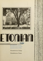 Page 7, 1939 Edition, Elizabethtown College - Conestogan / Etonian Yearbook (Elizabethtown, PA) online yearbook collection