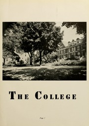 Page 11, 1941 Edition, Elizabethtown College - Conestogan / Etonian Yearbook (Elizabethtown, PA) online yearbook collection