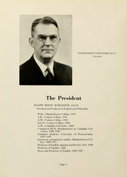 Page 12, 1941 Edition, Elizabethtown College - Conestogan / Etonian Yearbook (Elizabethtown, PA) online yearbook collection