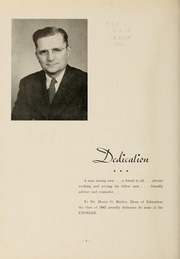 Page 8, 1947 Edition, Elizabethtown College - Conestogan / Etonian Yearbook (Elizabethtown, PA) online yearbook collection