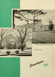 Page 10, 1953 Edition, Elizabethtown College - Conestogan / Etonian Yearbook (Elizabethtown, PA) online yearbook collection