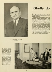 Page 14, 1953 Edition, Elizabethtown College - Conestogan / Etonian Yearbook (Elizabethtown, PA) online yearbook collection