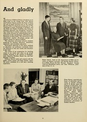 Page 17, 1953 Edition, Elizabethtown College - Conestogan / Etonian Yearbook (Elizabethtown, PA) online yearbook collection