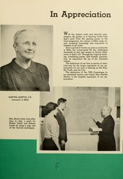 Page 9, 1953 Edition, Elizabethtown College - Conestogan / Etonian Yearbook (Elizabethtown, PA) online yearbook collection