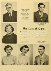 Page 12, 1954 Edition, Elizabethtown College - Conestogan / Etonian Yearbook (Elizabethtown, PA) online yearbook collection