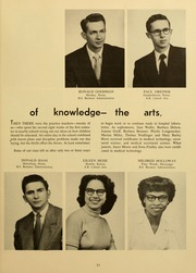 Page 15, 1954 Edition, Elizabethtown College - Conestogan / Etonian Yearbook (Elizabethtown, PA) online yearbook collection