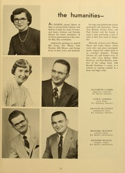 Page 17, 1954 Edition, Elizabethtown College - Conestogan / Etonian Yearbook (Elizabethtown, PA) online yearbook collection